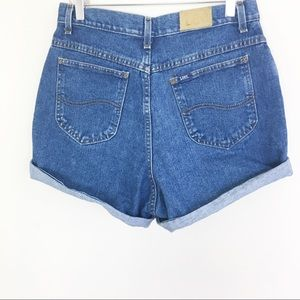 Vintage Lee high rise mom shorts 80s